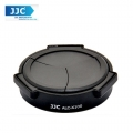 JJC ALC-X100(B) Self-Retaining Auto Open Close Auto Lens Cap For FUJIFILM FINEPIX X100 X100S (Black)
